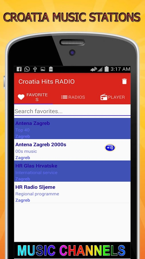 Croatia Music Stations Radio Free And Live 1 0 APK Download