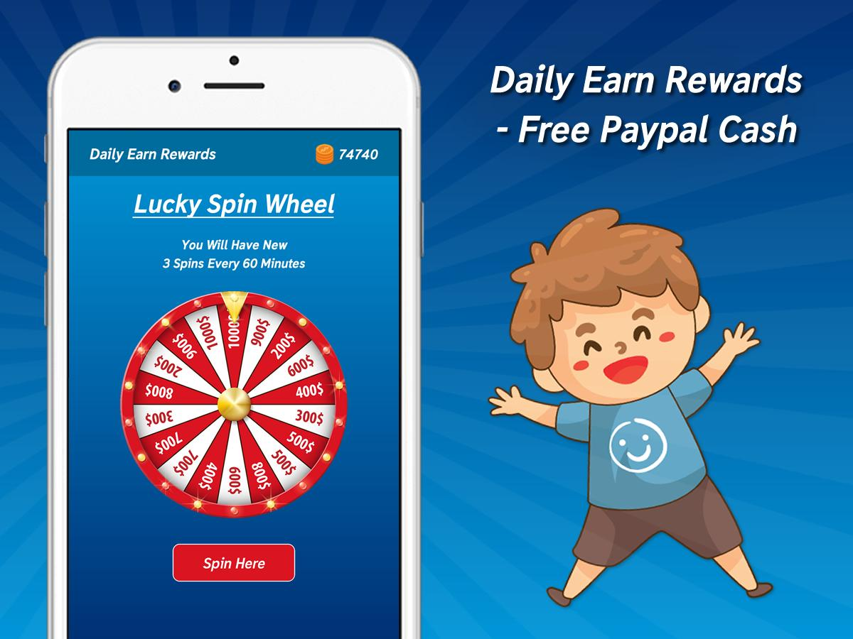 Daily Earn Rewards - Free Paypal Cash 1 0 APK Download