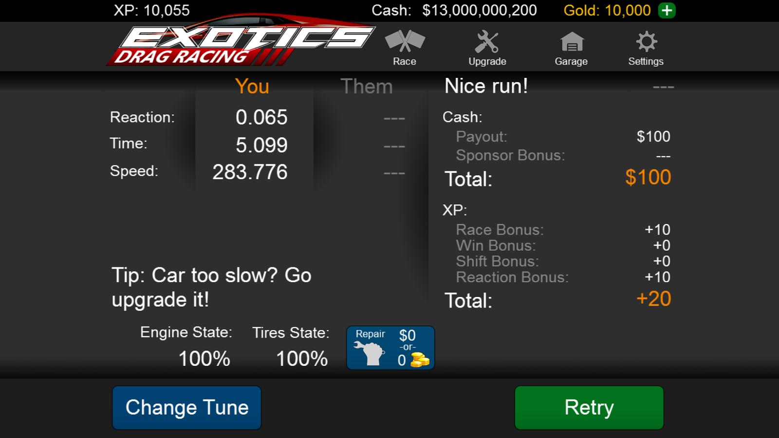 Exotics Drag Racing 1 0 8 APK Download - Android Гонки Игры