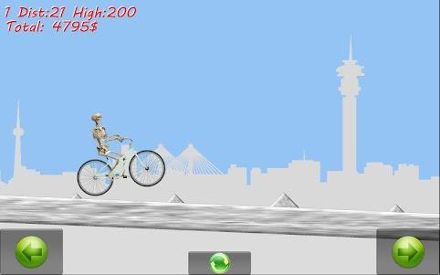 Skeleton Ragdoll Hill Biker 1.08 screenshot 3