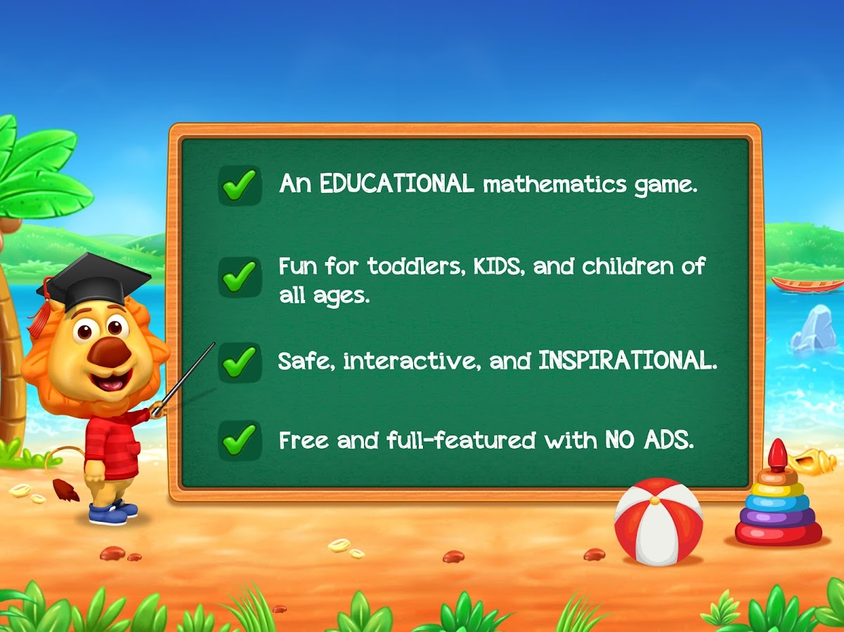 Math Kids - Add, Subtract, Count, and Learn 1.1.4 APK Download ...