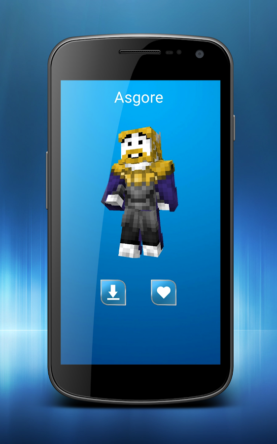 Skins Undertale For Minecraft APK Download Android - Skin para minecraft pe de mordecai