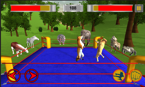 Real Animal Ring Fighting 1.0 screenshot 3
