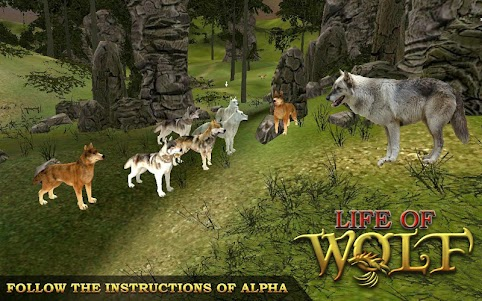 Animal Hunting Survival Game – Wolf Simulator 1.7 screenshot 2