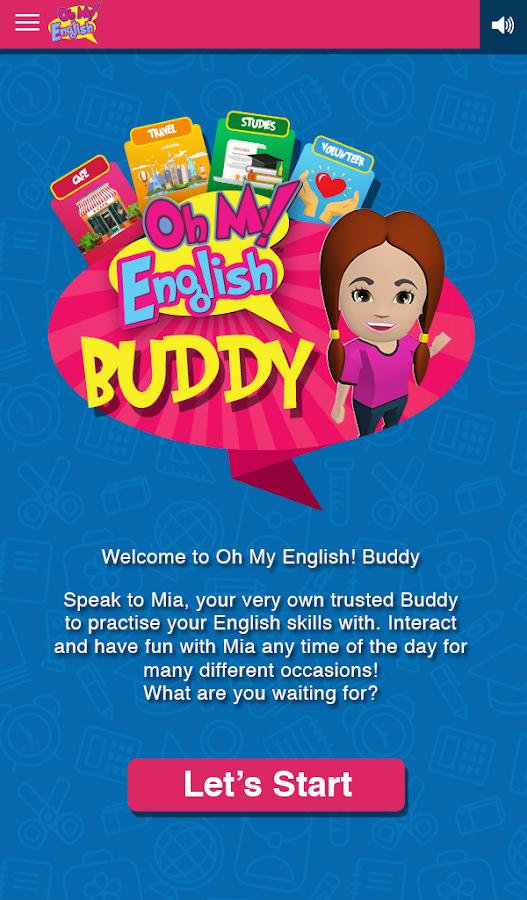 oh my english app