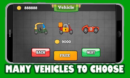 Climb Hill Racer 1.1 screenshot 1