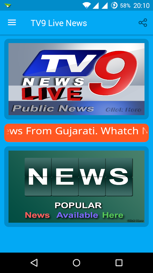 tv9 gujarati news live today