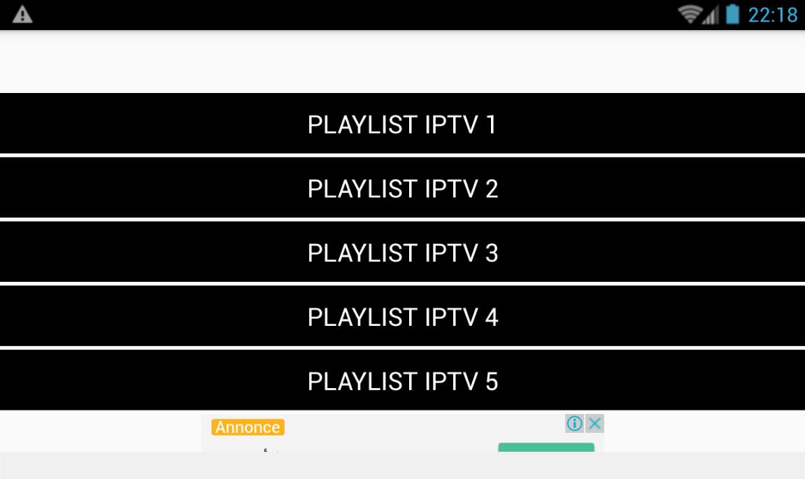 free iptv lists m3u playlist e 1 0 APK Download - Android