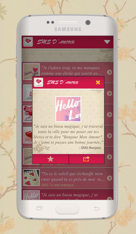 Love Sms In French Messages 101 Apk Download Android