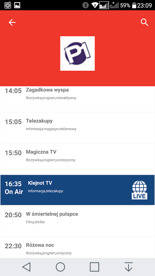 Poland Free TV Electronic Program Guide 2 5 APK Download - Android