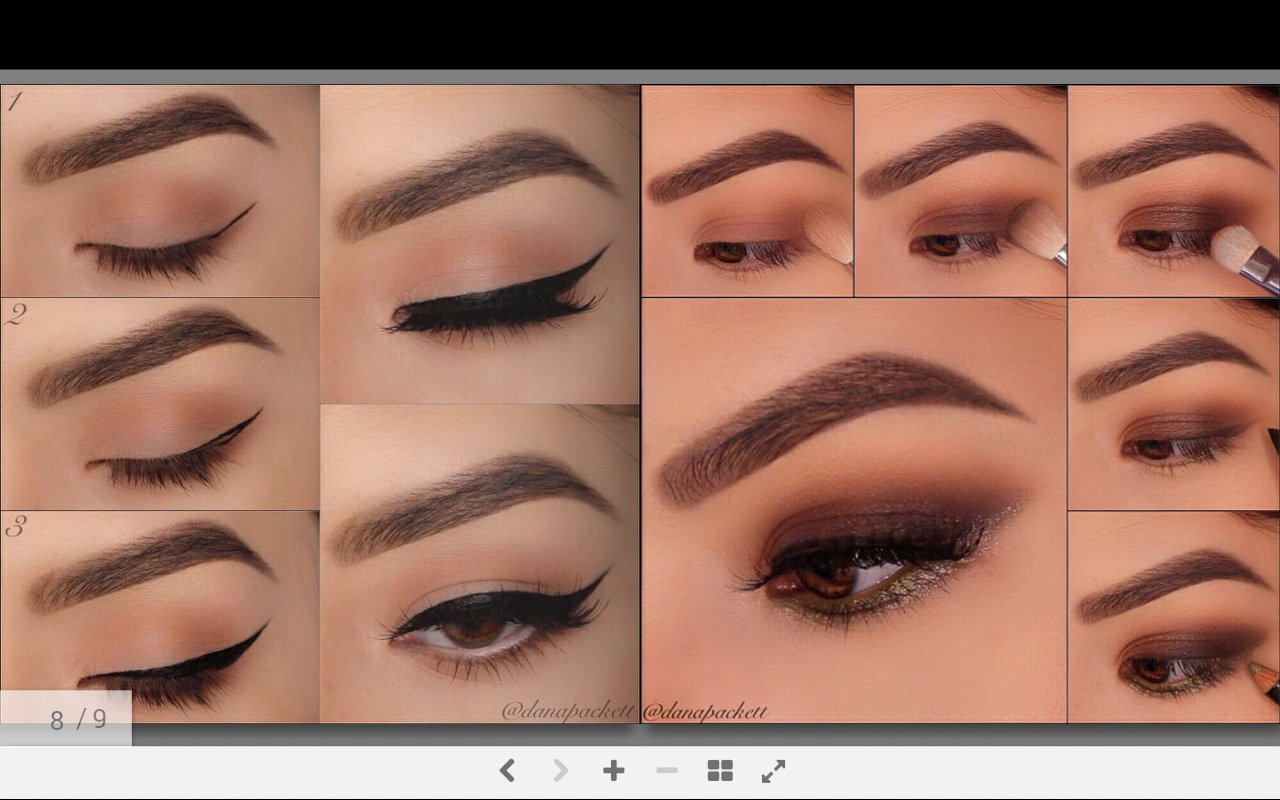 eye makeup tutorial 3.23 apk download - android lifestyle apps