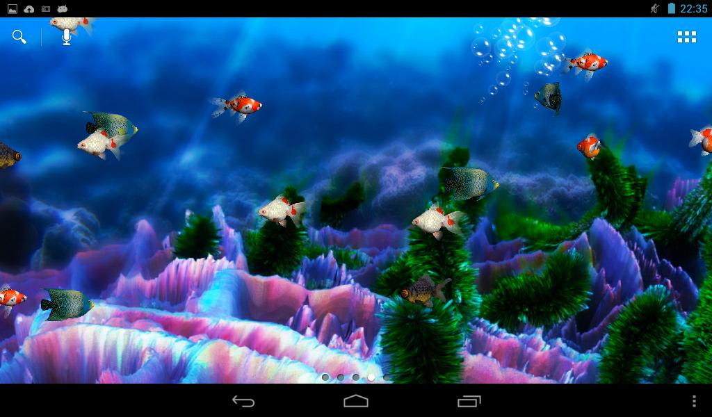 ... Aquarium Free Live Wallpaper 4.4 screenshot 5 ...
