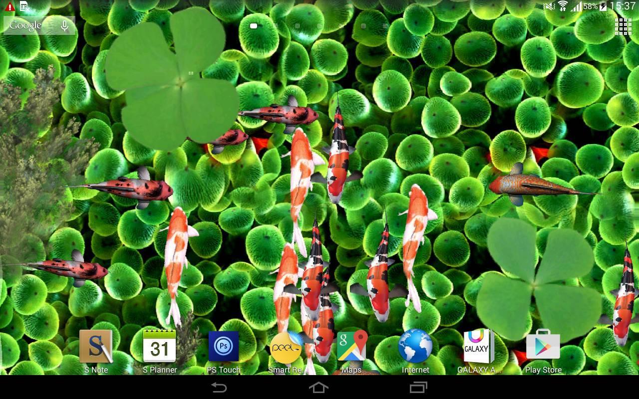 Koi Fish Live Wallpaper 3d 15 Apk Download Android