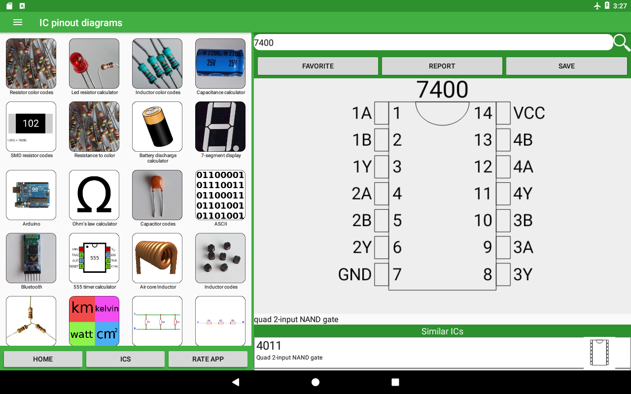 Electronics Toolkit Pro 14 Apk Download Android Education Apps Energy Calculator On Led Circuit Power And Series Resistor Screenshot 8