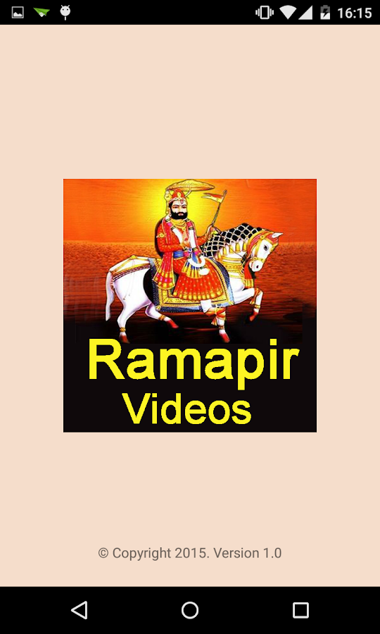 Ramapir VIDEOs (Ramdevpir Aarti/Bhajan/Akhyan) 1 0 APK
