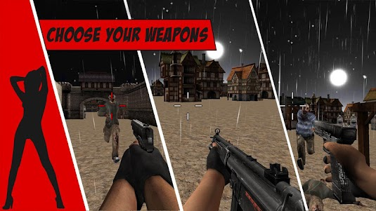 Zombie Rampage Hunter 1.0.1 screenshot 1