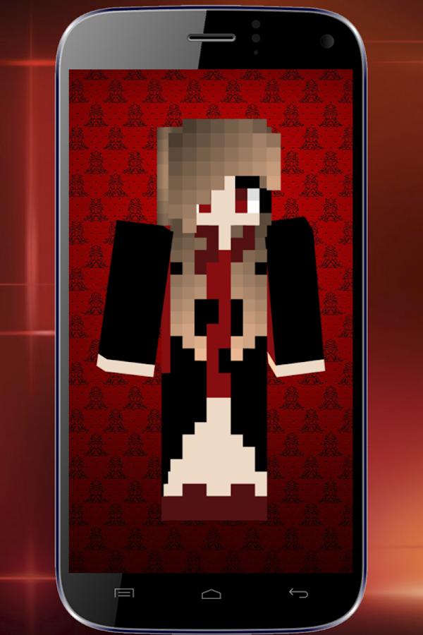 скрины в майнкрафт для девочек вампирша #11
