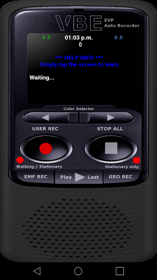 VBE AUTO EVP RECORDER 5 APK Download - Android Tools Apps