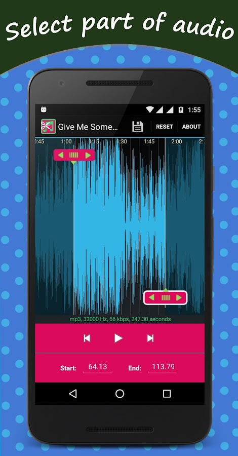 Mp3 Cutter And Ringtone Maker 40 Apk Download Android Music