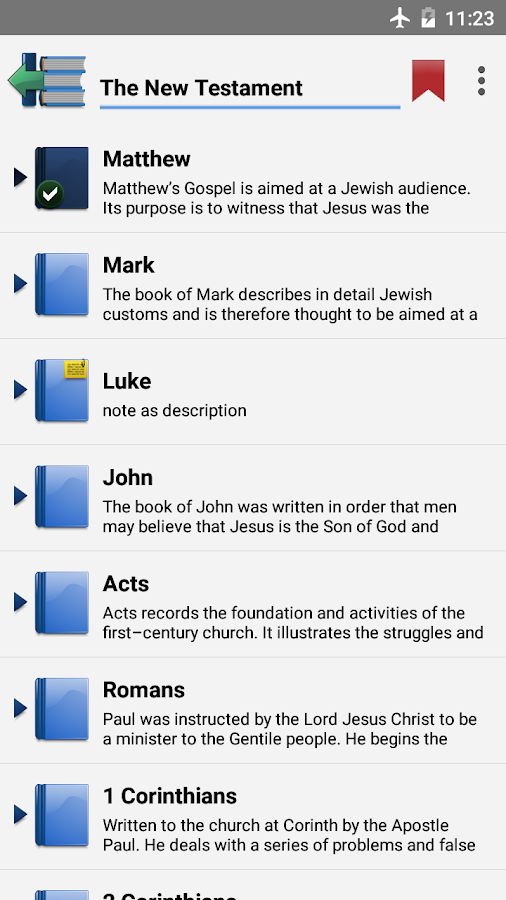 King James Bible in English (KJV) 2 0 APK Download - Android