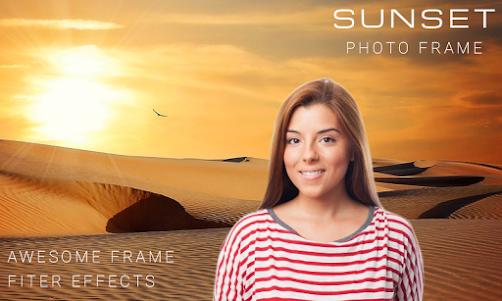 Sunset Photo Frame 2017 1.0.2 screenshot 1
