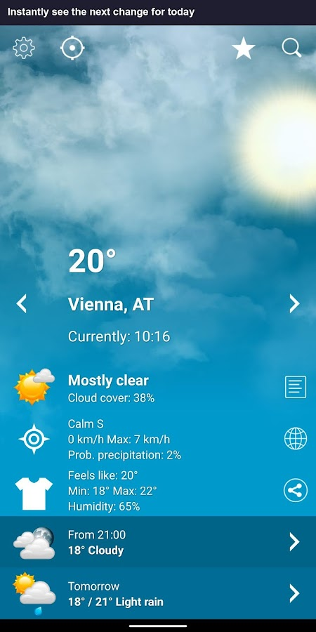 com exovoid weather app at 1 4 5 4-at APK Download - Android