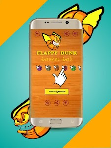 Flappy hungrey dunk 1.2 screenshot 2