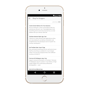 Blog 0.0.1 screenshot 1