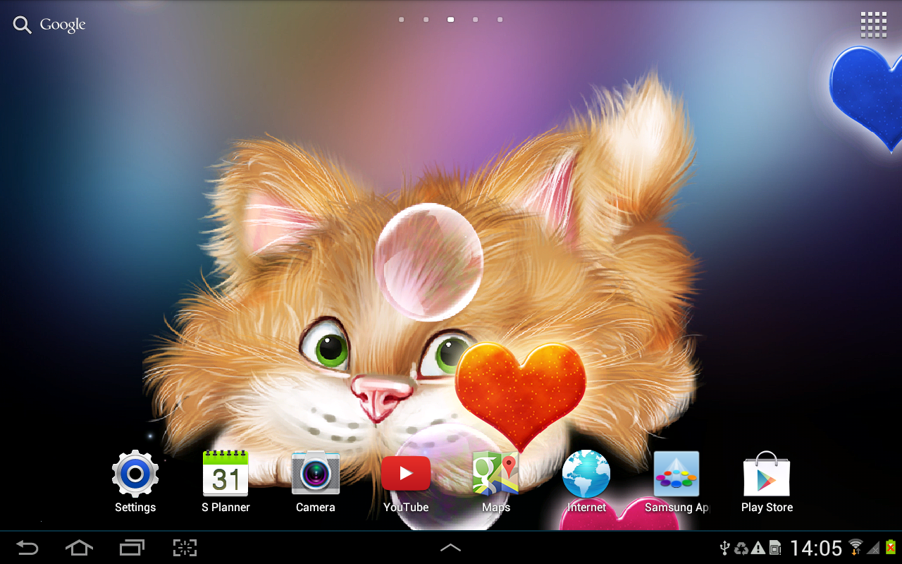Funny Cat Live Wallpaper 1.0.3 APK Download  Android Personalization
