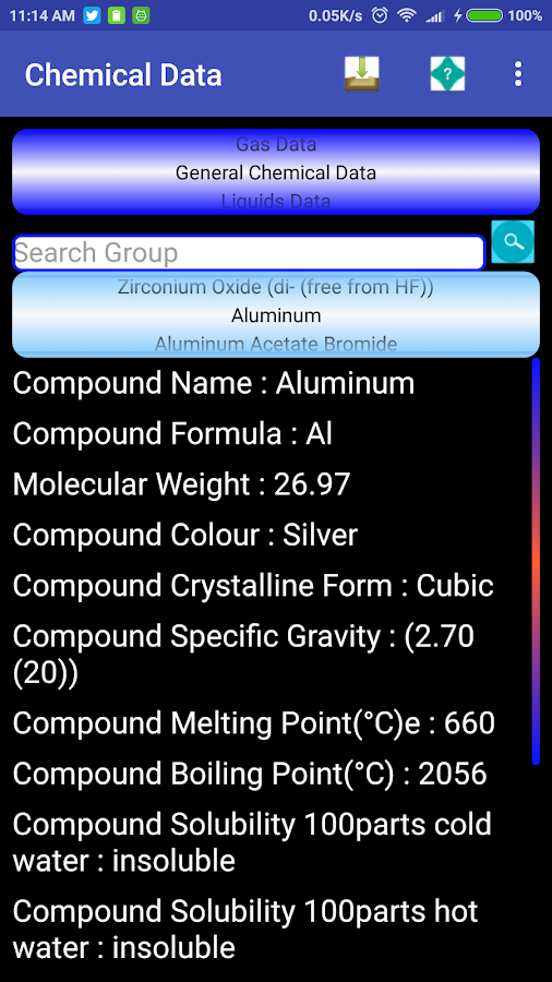 Chemistry,Engineering Data,units,calculations free 4 4 APK