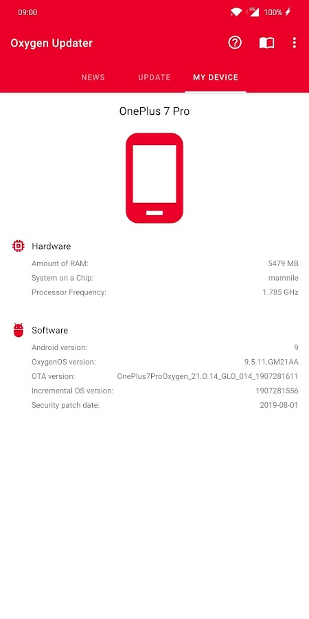 Oxygen Updater 3 2 0 APK Download - Android Tools Apps