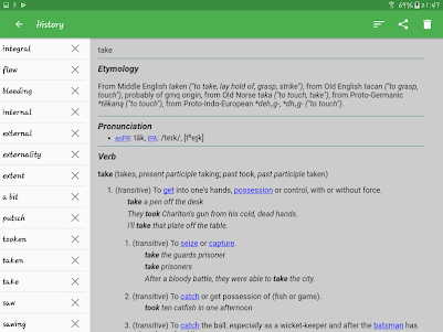 English Dictionary - Offline 3.9.1 screenshot 12