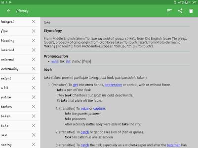 English Dictionary - Offline 4.1 screenshot 12