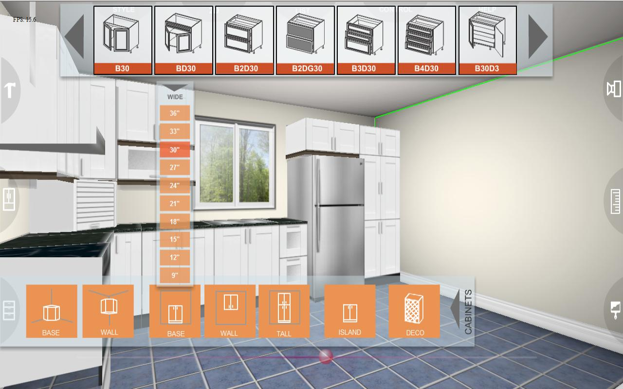 Eurostyle Kitchen 3D design 2 2 0 APK Download Android