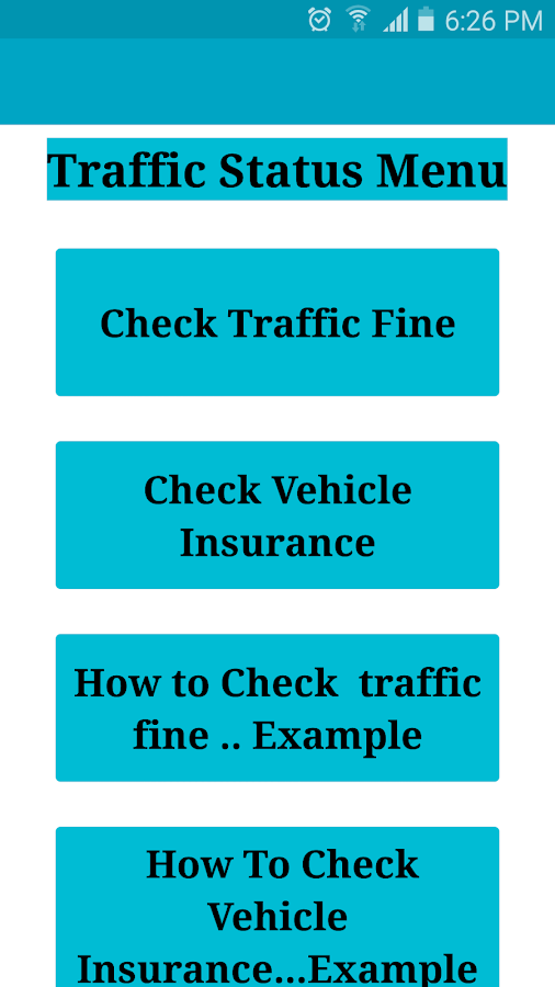 Saudia Traffic Fine check easy 1 0 APK Download - Android Tools Apps