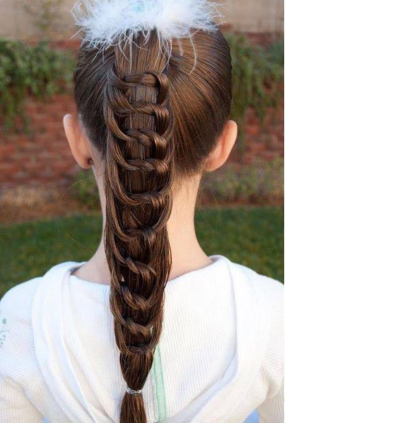 Simple Hair Design Girl Simple Hair Style