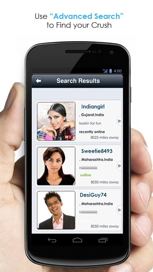 Online Indiase dating app