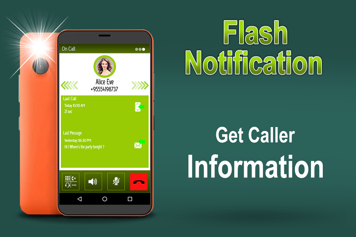 Flash Notification On Call, SMS & App Notification 1 4 APK