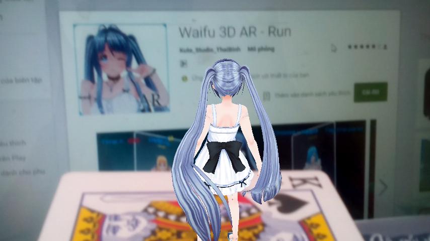 Waifu 3D AR Show 12 Screenshot 5