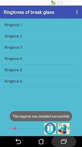Ringtones of break glass 16 screenshot 1