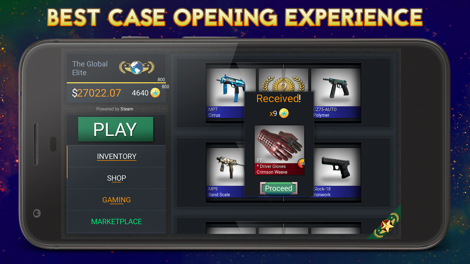 case simulator hero for cs go 3 1 4b apk download android