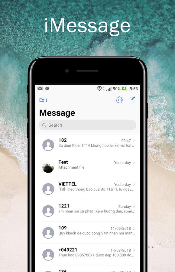 iMessage style OS11 14 APK Download - Android Tools Apps