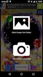 Birthday photo frames 5.0 screenshot 3
