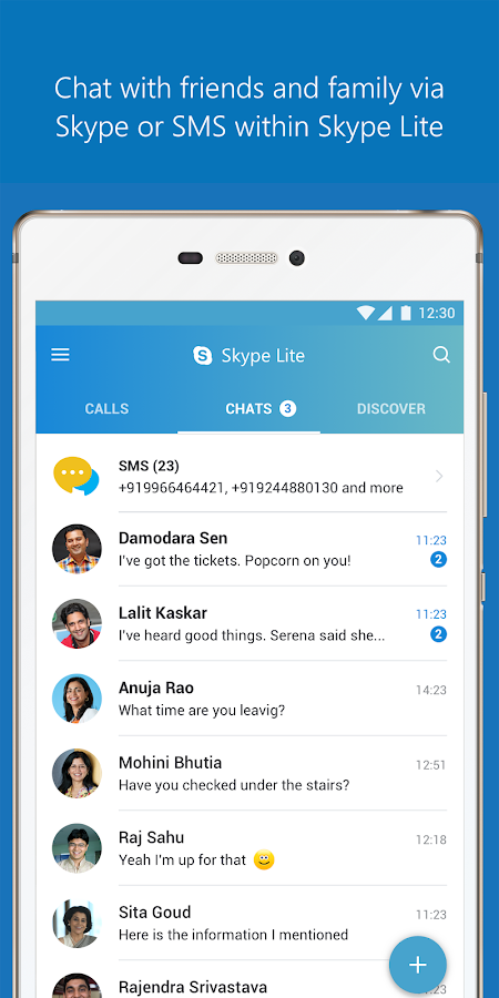 free download skype apk for android