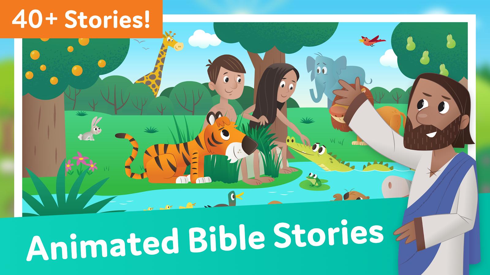 Bible App for Kids: Interactive Audio & Stories 2 25 APK