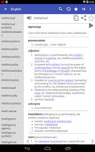 English Dictionary - Offline 4.0 screenshot 17