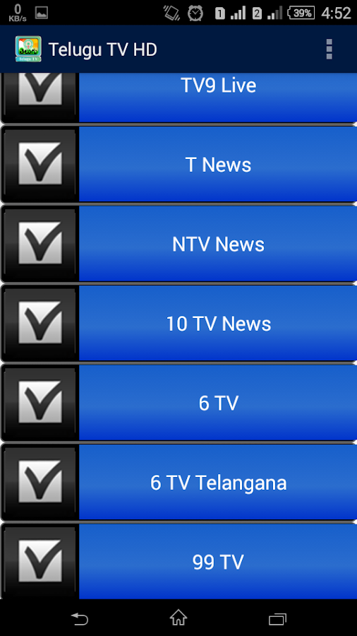 Telugu TV HD 1 1 APK Download - Android Entertainment Apps