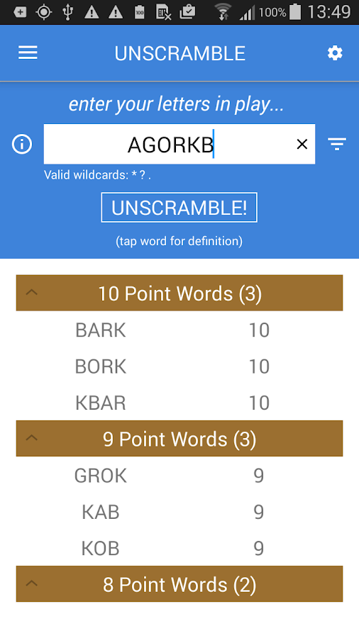 Unscramble Letters 3220 Apk Download Android Entertainment Apps