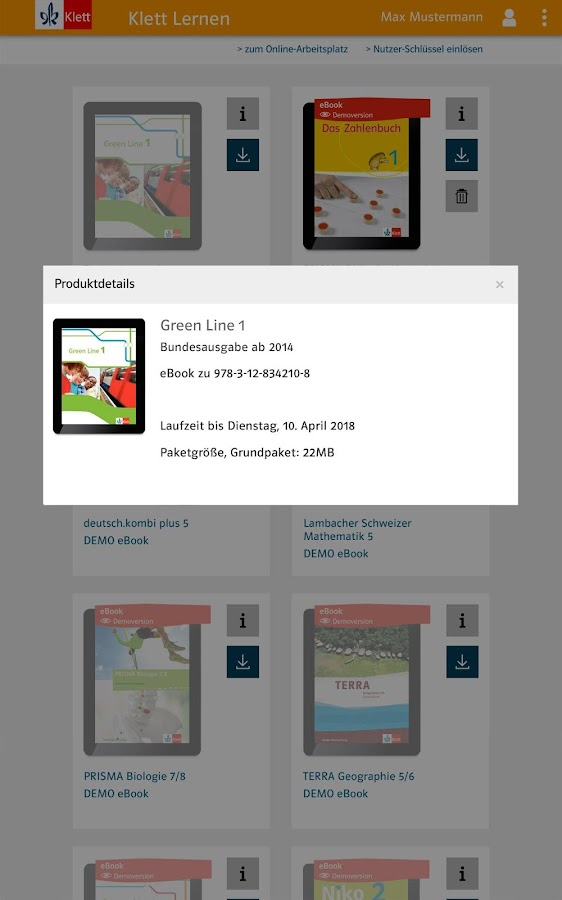 Klett Lernen 2.1 APK Download - Android Education Apps