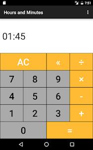 Hours & Minutes Calculator 1.3 screenshot 17
